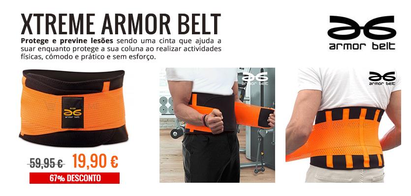 Xtreme Armor Belt protege e previne lesões