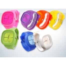 Relogios Coloridos silicone