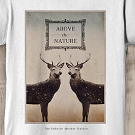 T-Shirt Above The Nature - RED PILL