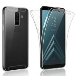 Capa 360 Gel Dupla Frente e Verso - Samsung Galaxy J4 2018