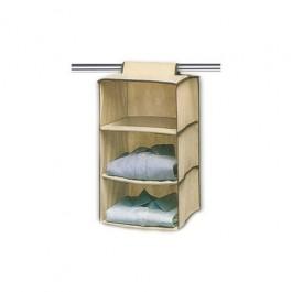Organizador de Roupa vertical e Perdurável - 3 Divisórias