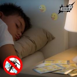 Adesivos anti-mosquitos Zoom Happy Faces Edition - Pack de 36