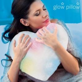 Almofada LED em Coração Glow Pillow