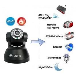 Camera de vigilância Wireless Rotativa