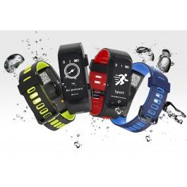 Bracelete Relógio F4 com Bluetooth 4.0 - IP68 à prova d'água