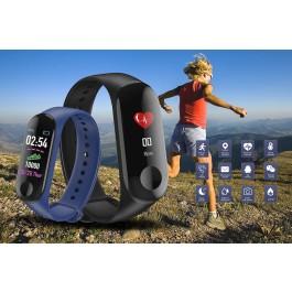 Bracelete Smartwatch M3 com Bluetooth 4.0 - IP67 à prova de água