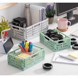 Caixas Organizadoras Dobráveis e Empilháveis - Pack de 3