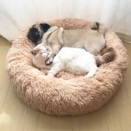 Cama relaxante e anti-stress para animais