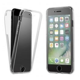 Capa 360 Gel Dupla Frente e Verso - iPhone 8 Plus - Transparente