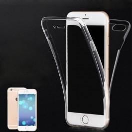 Capa 360 Gel Dupla Frente e Verso - iPhone 8 - Transparente