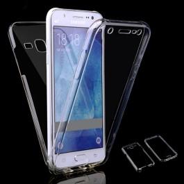 Capa 360 Gel Dupla Frente e Verso - Samsung Galaxy J3 e J3 2016 - Transparente