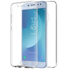 Capa 360 Gel Dupla Frente e Verso - Samsung Galaxy J5 2017 - Transparente