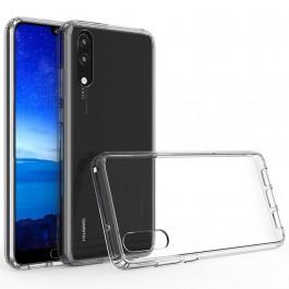Capa 360 Gel Dupla Frente e Verso - Huawei P20 - Transparente