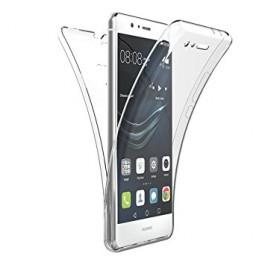 Capa 360 Gel Dupla Frente e Verso - Huawei P9 Lite - Transparente