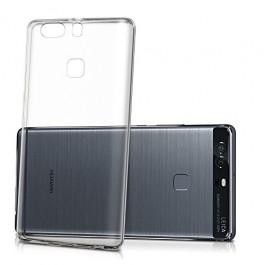 Capa 360 Gel Dupla Frente e Verso - Huawei P9 - Transparente