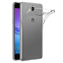 Capa 360 Gel Dupla Frente e Verso - Huawei Y6 2017 - Transparente