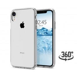 Capa 360 Gel Dupla Frente e Verso - iPhone XR - Transparente