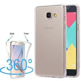 Capa 360 Gel Dupla Frente e Verso - Samsung Galaxy A3 2016 - Transparente