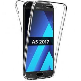 Capa 360 Gel Dupla Frente e Verso - Samsung Galaxy A5 2017 - Transparente