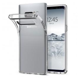 Capa 360 Gel Dupla Frente e Verso - Samsung Galaxy Note 8 - Transparente