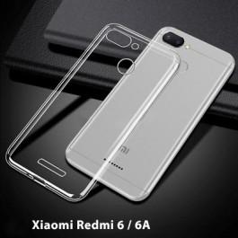 Capa 360 Gel Dupla Frente e Verso - Xiaomi Redmi 6 - 6A - Transparente