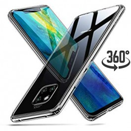 Capa 360 Gel Dupla Frente e Verso - Huawei Mate 20 Pro - Transparente