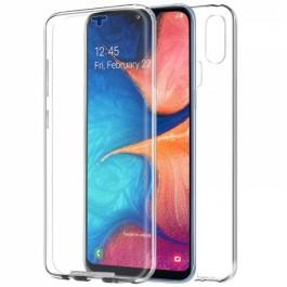 Capa 360 Gel Dupla Frente e Verso - Samsung Galaxy A20e  - Transparente