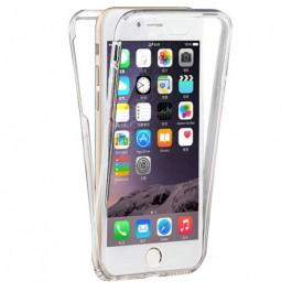 Capa 360 Gel Dupla Frente e Verso - iPhone 6 e 6S - Transparente