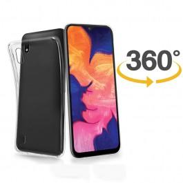 Capa 360 Gel Dupla Frente e Verso - Samsung Galaxy A10  - Transparente