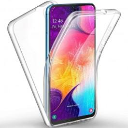 Capa 360 Gel Dupla Frente e Verso - Samsung Galaxy A30 - A20  - Transparente