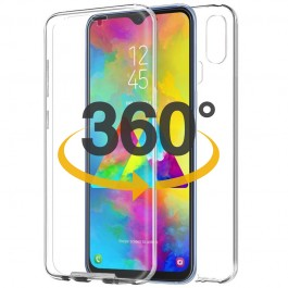 Capa 360 Gel Dupla Frente e Verso - Samsung Galaxy M20  - Transparente