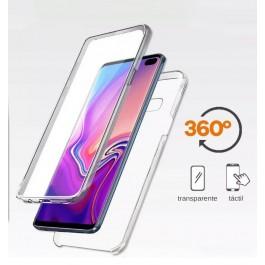 Capa 360 Gel Dupla Frente e Verso - Samsung Galaxy S10 Lite - 2019 - Transparente