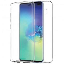 Capa 360 Gel Dupla Frente e Verso - Samsung Galaxy S10 Plus - Transparente