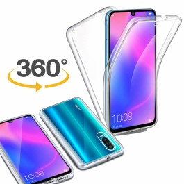Capa 360 Gel Dupla Frente e Verso - Xiaomi Mi 9 - Transparente
