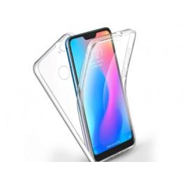 Capa 360 Gel Dupla Frente e Verso - Xiaomi Redmi Mi 8 Lite - Transparente