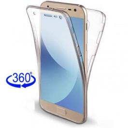 Capa 360 Gel Dupla Frente e Verso - Samsung Galaxy J6 Plus / Prime - Transparente