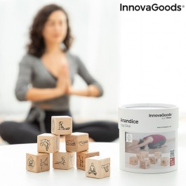 Conjunto de Dados de Yoga em madeira - 7 Peças