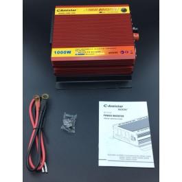 Conversor e transformador - DC 12V - AC 220v - 1000W