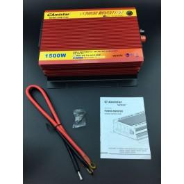 Conversor e transformador - DC 12V - AC 220v - 1500W