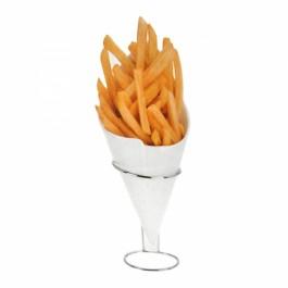 Cone de Porcelana para Batatas Fritas
