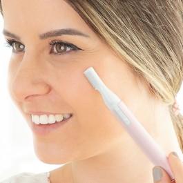 Depiladora Facial Esfoliante 2 em 1