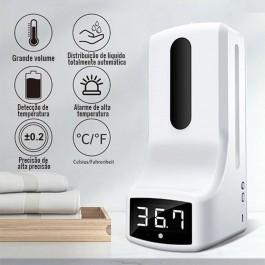 Dispensador Automático com Sensor De Temperatura