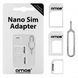 Adaptador SIM 3 em 1 – Nano e Micro