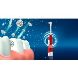 Escova de Dentes Eléctrica de 6000 RPM com 4 cabeças