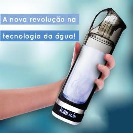 Garrafa Hidrogenadora HYDROMAGIC H2 - Água Hidrogenada Antioxidante