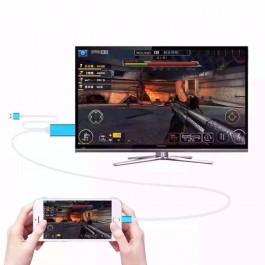 Cabo HDMI para Iphone / Ipad / Ipod