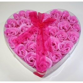 18 Rosas para a cama ou banho