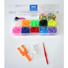 Organizador Elásticos Rainbow Loom
