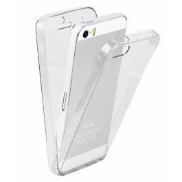 Capa 360 Gel Dupla Frente e Verso -  iPhone5