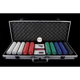 Mala de Poker - 500 Fichas